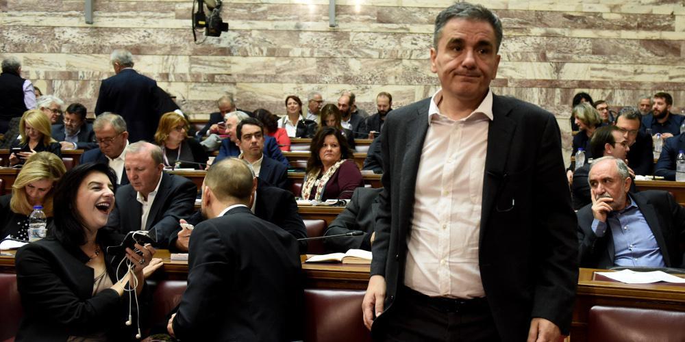 Τσακαλώτος για νόμο Παρασκευόπουλου: Είμαστε οπαδοί του Ντοστογιέφκσι [βίντεο]