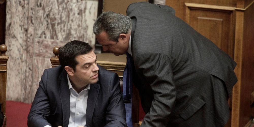Η κυβερνητική συνοχή στη… μέγκενη του Σκοπιανού: Στον αέρα η υπόσχεση Καμμενού