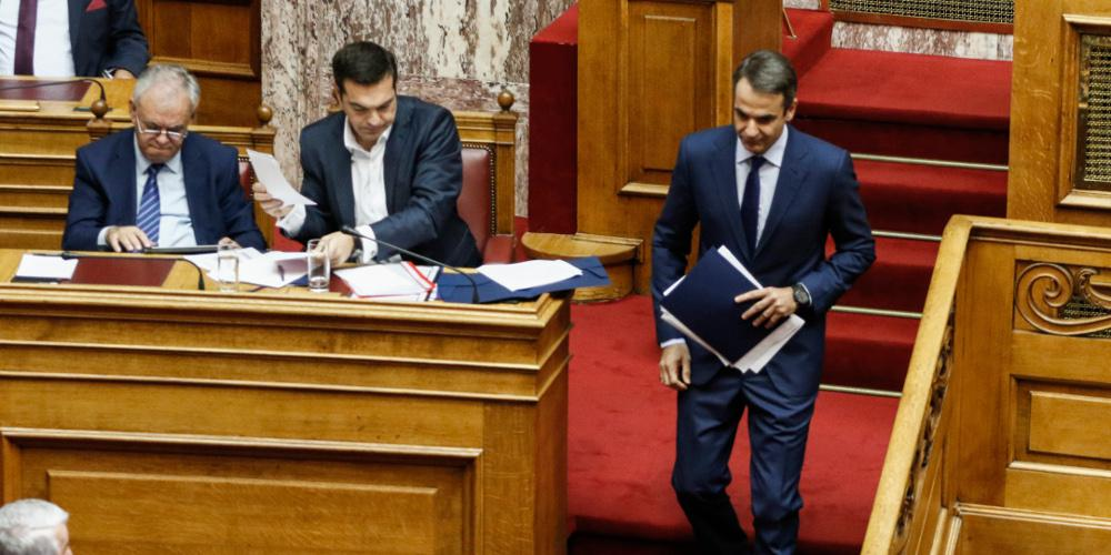 Μετωπική κόντρα Τσίπρα-Μητσοτάκη στη Βουλή για την Συνταγματική Αναθεώρηση, τις εκλογές και τον Πρόεδρο της Δημοκρατίας