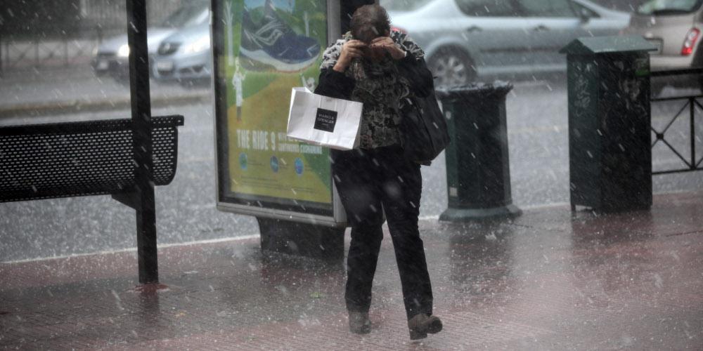 Καιρός: Καταιγίδες και χαλάζι σήμερα στα βόρεια, ζέστη στην υπόλοιπη χώρα