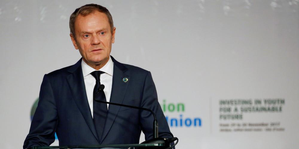 Τουσκ: Να συμφωνήσουν οι 27 σε σύντομη, υπό όρους καθυστέρηση του Brexit