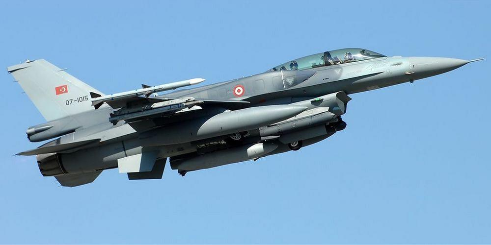 Τον χαβά τους οι Τούρκοι: Υπερπτήσεις τουρκικών F-16 πάνω από τους Ανθρωποφάγους