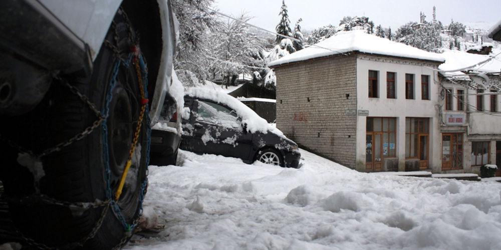 Που χρειάζονται αντιολισθητικές αλυσίδες στη Μακεδονία λόγω χιονιού