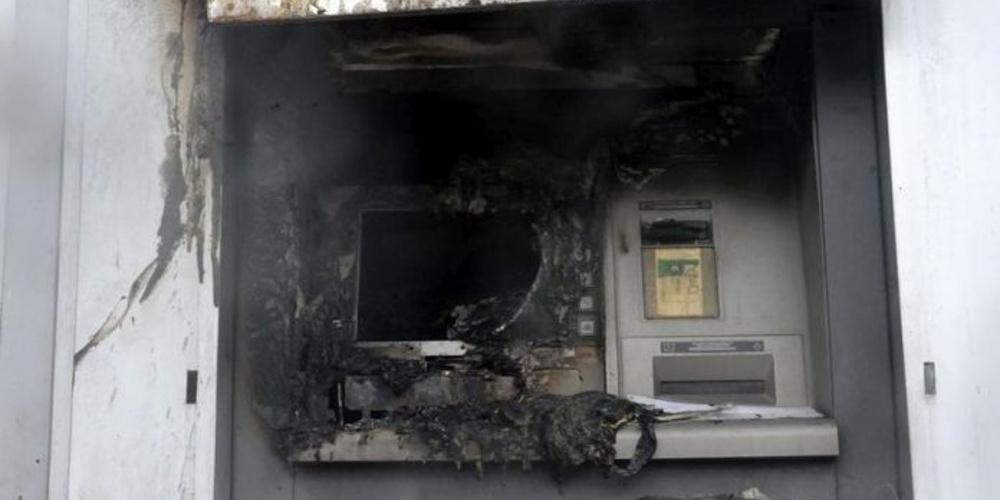 Θεσσαλονίκη: Έκρηξη σε ΑΤΜ τα ξημερώματα στη Λεωφ. Γεωργικής Σχολής