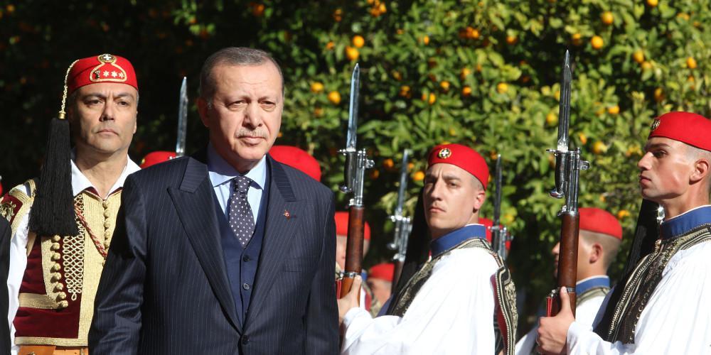 Οι πρώτες εντυπώσεις από την επίσκεψη Ερντογάν