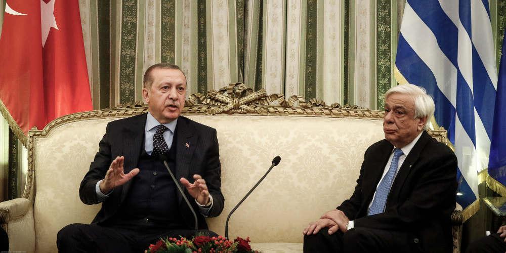 Παυλόπουλος σε Ερντογάν: Οι μεγάλοι πολιτικοί μετράνε τα λόγια τους