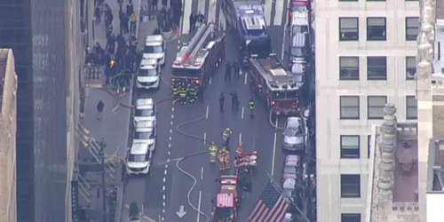 Μεγάλη φωτιά στη Νέα Υόρκη: Εκκενώθηκε ο σταθμός Γκραντ Σέντραλ [βίντεο]