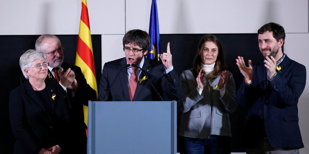 Ποινές κάθειρξης 9 έως 13 χρόνια στους αυτονομιστές ηγέτες της Καταλονίας