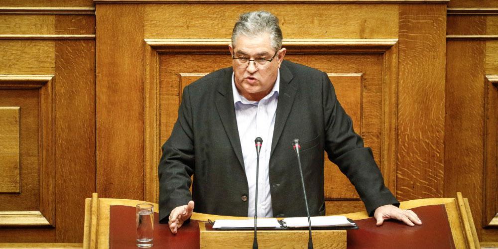 Κουτσούμπας: Το ΚΚΕ καταψηφίζει μια ακόμα αντιλαϊκή κυβέρνηση