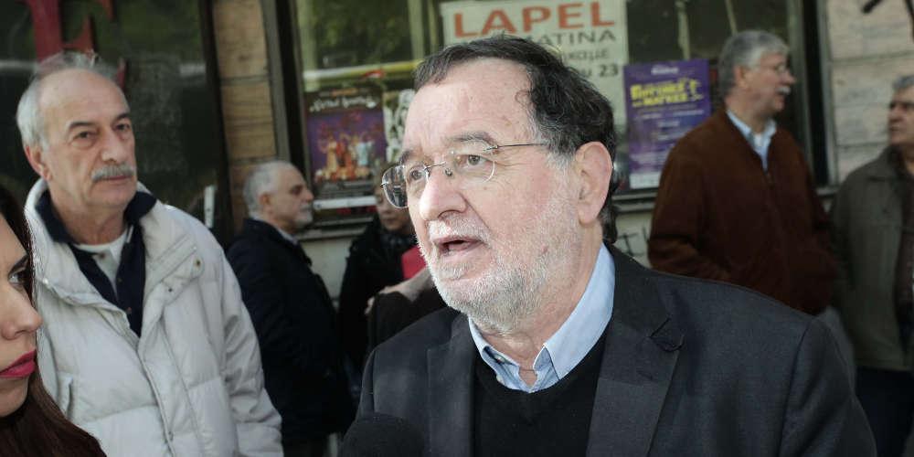 Παραιτήθηκε ο Λαφαζάνης από γραμματέας της ΛΑΕ για το αποτέλεσμα των ευρωεκλογών