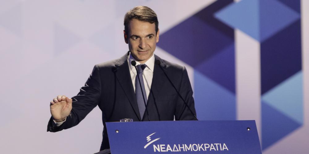 Μητσοτάκης: Αυτή η κυβέρνηση εμπιστεύεται την τοπική αυτοδιοίκηση