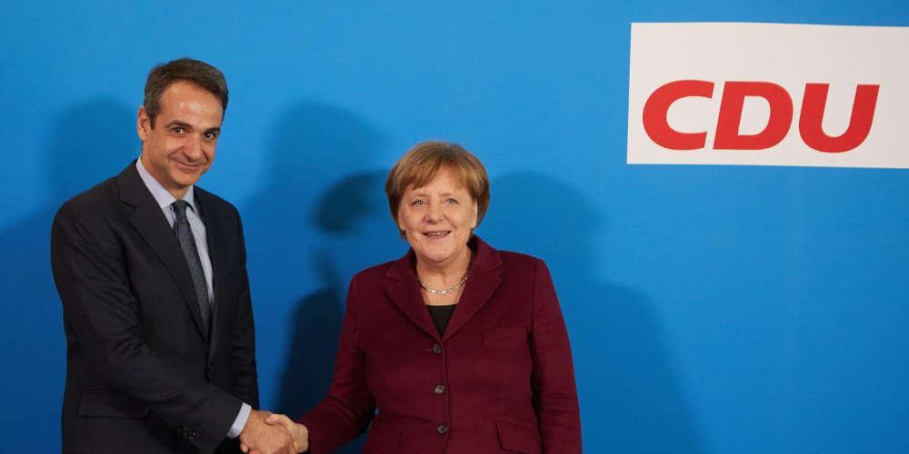 Μεταναστευτικό: Με διπλό στόχο σε Βερολίνο και Βιέννη ο Κυριάκος Μητσοτάκης