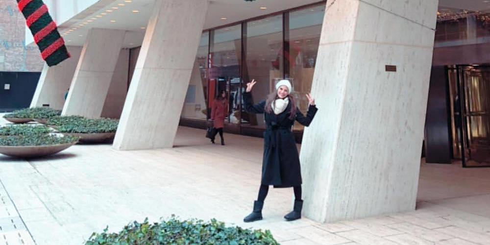 Μοναδικές στιγμές για τη Χριστίνα Μπόμπα στη Νέα Υόρκη [εικόνες & βίντεο]