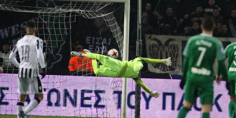 Κύπελλο Ελλάδας: Νίκη-πρόκριση μέσα στο ΟΑΚΑ για τον ΠΑΟΚ με 1-0 επί του Παναθηναϊκού