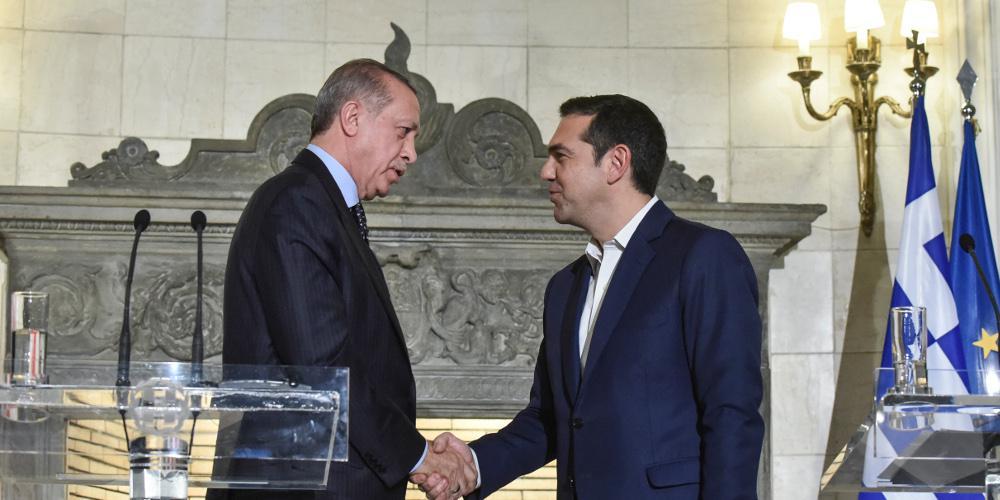 Ολοκληρώθηκε η κρίσιμη συνάντηση Τσίπρα – Ερντογάν στις Βρυξέλλες