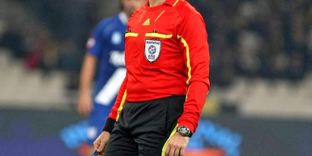 Super League 1: O κορυφαίος Σκόμινα διαιτητής στο ΠΑΟΚ - Παναθηναϊκός
