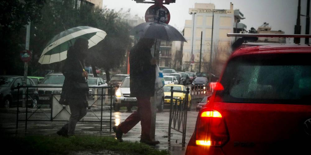 Έκτακτο δελτίο επιδείνωσης καιρού – Ισχυρές βροχές και καταιγίδες