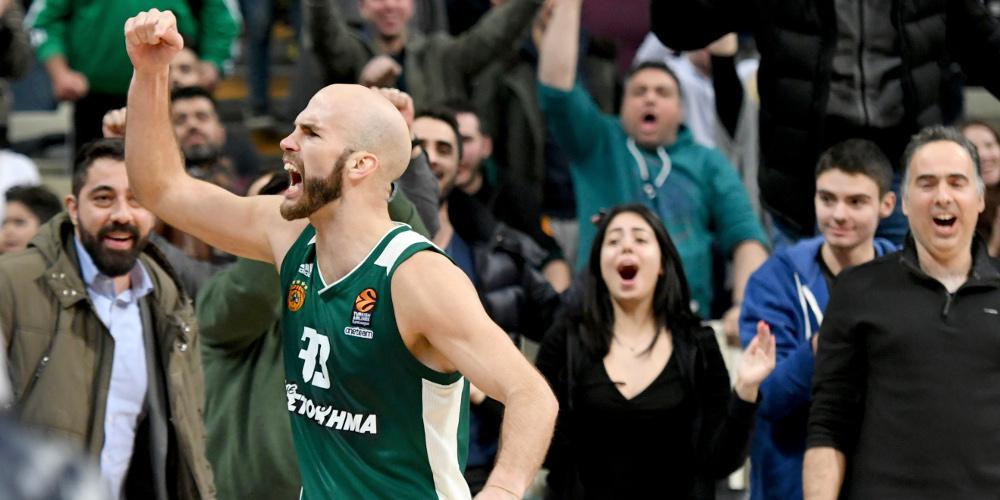 Κυπελλούχος Ελλάδας ο Παναθηναϊκός - Νίκησε στον τελικό τον ΠΑΟΚ με 79-73