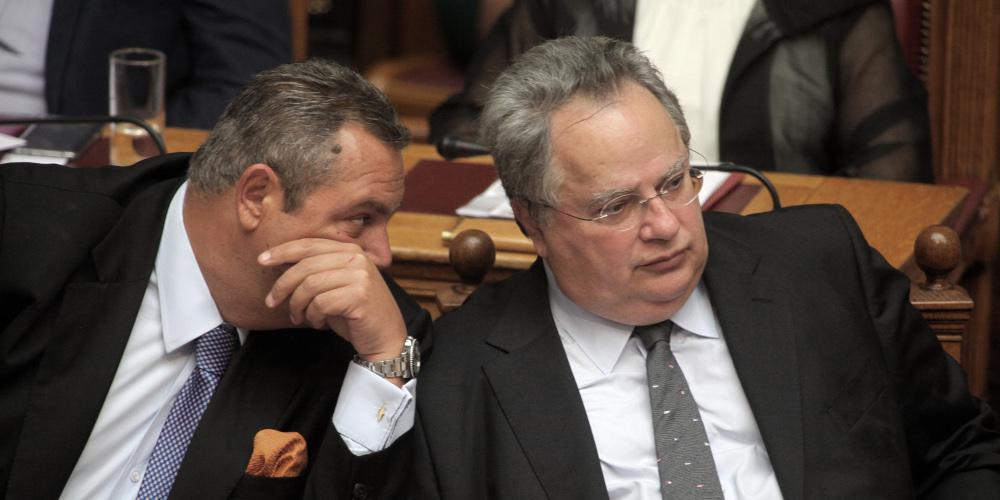 Κυβερνητικό αλαλούμ για το Σκοπιανό - Οι ΑΝΕΛ θα συμμετάσχουν στα συλλαλητήρια