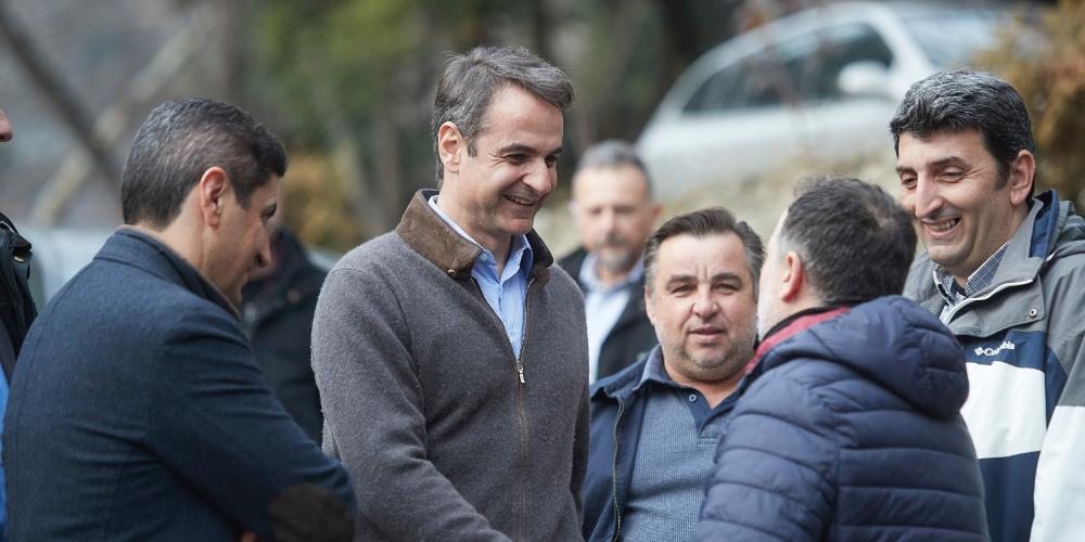 Μητσοτάκης: Η ΝΔ θα μειώσει τους φόρους για όλους τους Έλληνες πολίτες