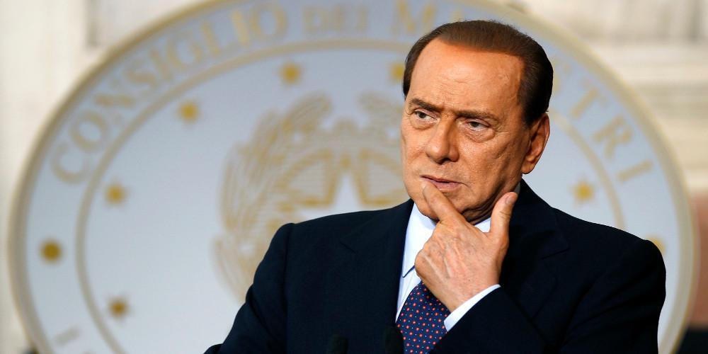 Θετικός στον κορονοϊό είναι ο πρώην πρωθυπουργός της Ιταλίας Σίλβιο Μπερλουσκόνι