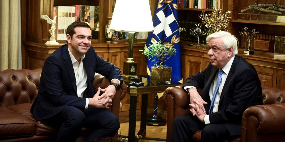Στον Πρόεδρο της Δημοκρατίας ο Τσίπρας - Ετοιμάζει διάγγελμα