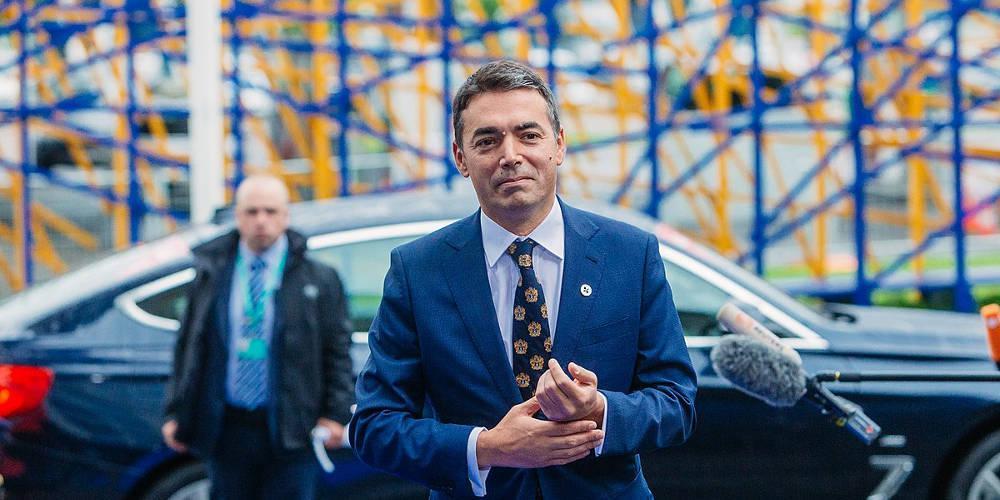 Στο Ευρωκοινοβούλιο ο Ντιμιτρόφ για το όνομα των Σκοπίων