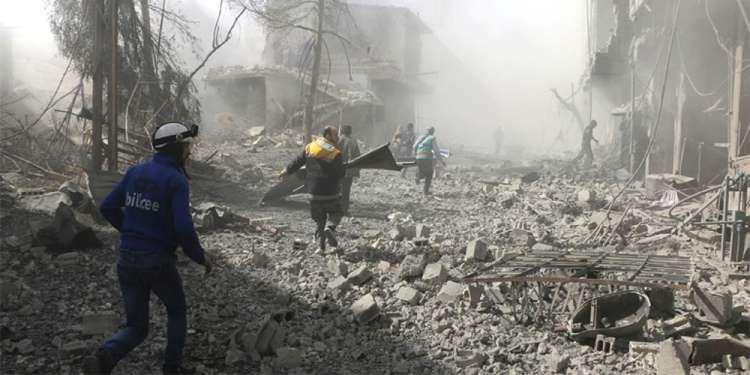Σοκ: 250 οι άμαχοι νεκροί τις τελευταίες 48 ώρες στην Ανατολική Γούτα