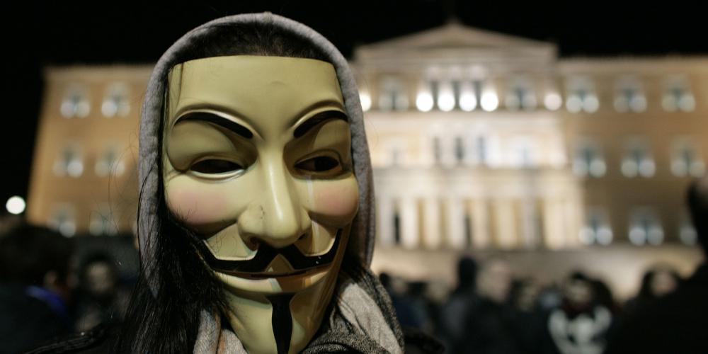 Οι Anonymoys έριξαν την ιστοσελίδα της ΔΕΗ: Σύντομα θα καταστρέψουμε όλα τα ηλεκτρονικά σας συστήματα