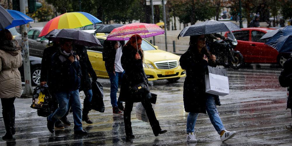 Άστατος ο καιρός και την Παρασκευή - Σε ποιες περιοχές θα βρέξει