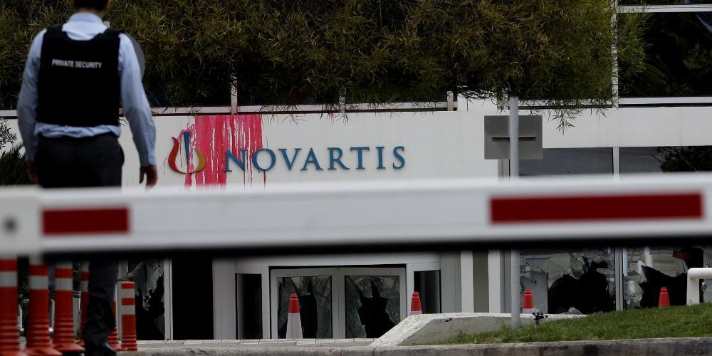 Βίντεο-ντοκουμέντο από την επίθεση του Ρουβίκωνα στα γραφεία της Novartis