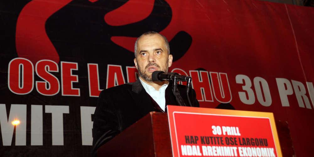 Αποφασισμένος ο Ράμα να καθαιρέσει τον πρόεδρο της Αλβανίας