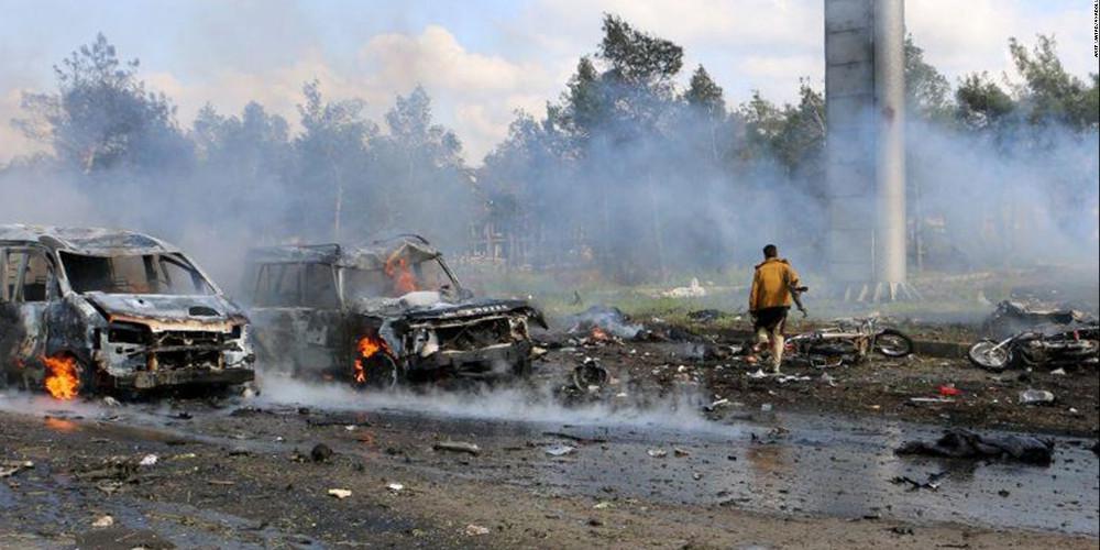 Ασταμάτητοι οι βομβαρδισμοί στη Συρία- Στους 21 οι άμαχοι νεκροί