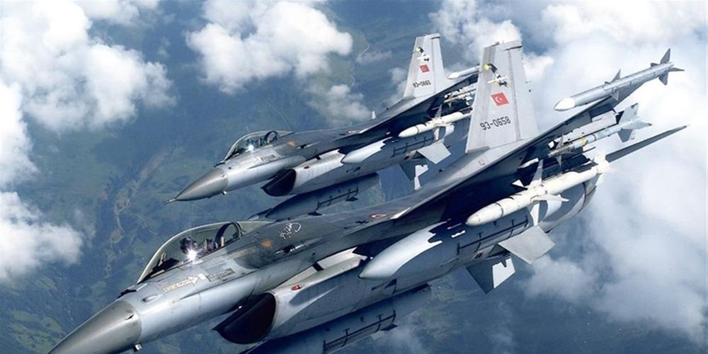 Συνεχίζουν να προκαλούν οι Τούρκοι - F-16 πέταξαν πάνω από τη Λέσβο