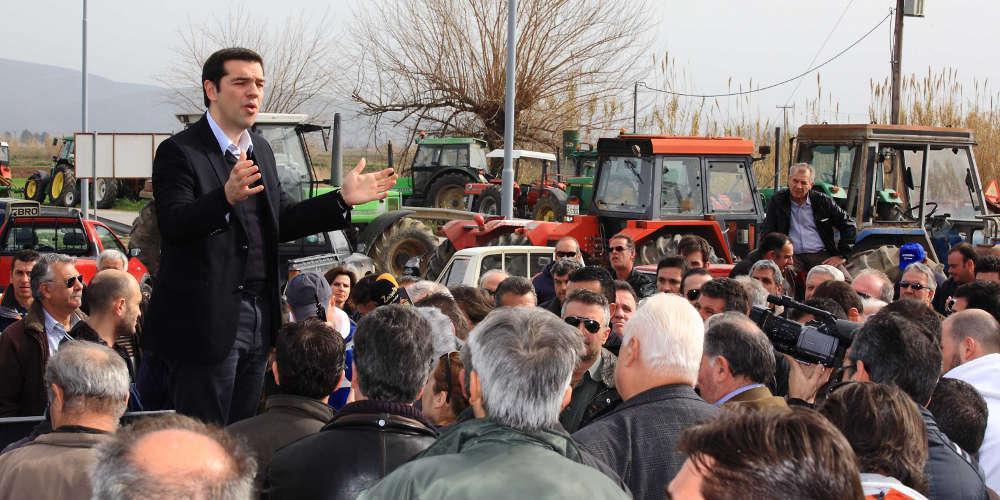 Ελληνίδα αγρότισσα θυμίζει στον Τσίπρα τα ψέματά του
