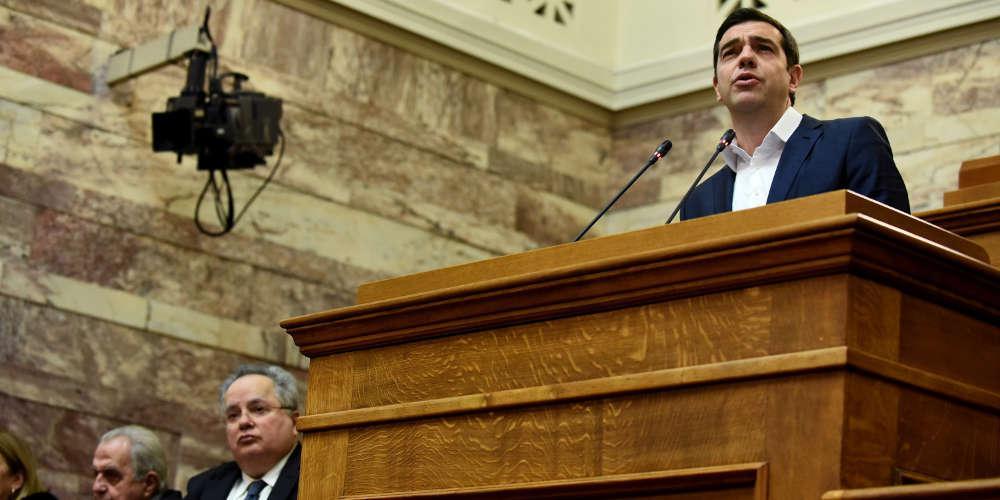 Ο Τσίπρας έκανε το άσπρο-μαύρο στην Βουλή για την υπόθεση της Novartis