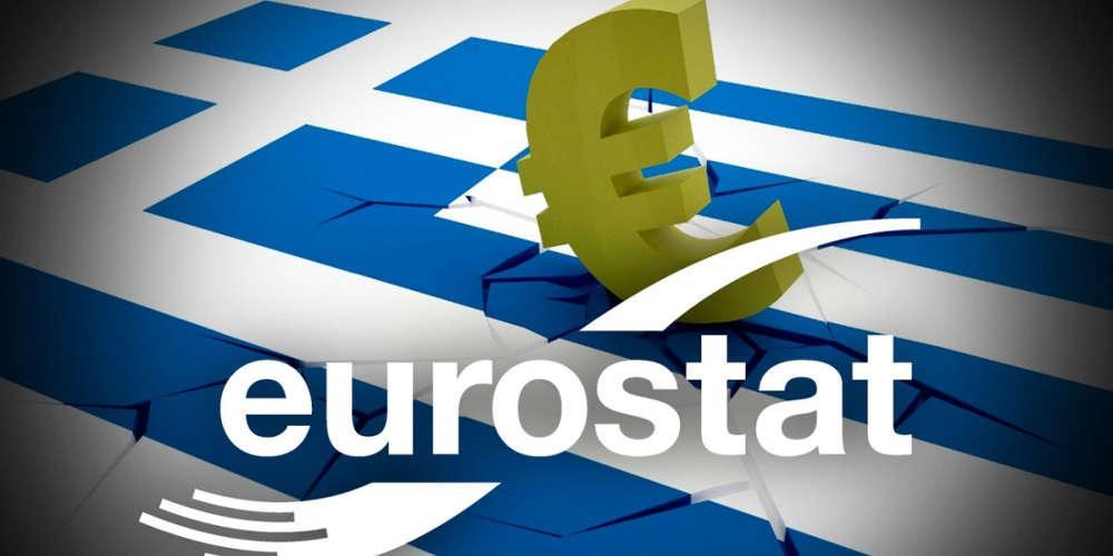 Eurostat: Τελευταία η Ελλάδα στην αύξηση του ΑΕΠ
