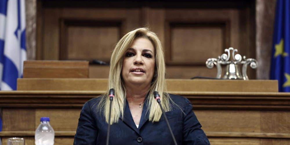 Φώφη Γεννηματά: Η γυναίκα πίσω από την πρόεδρο του ΚΙΝΑΛ σε μια διαφορετική συνέντευξη