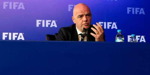 Ο Ινφαντίνο μοναδικός υποψήφιος στις εκλογές του Ιουνίου στην FIFA