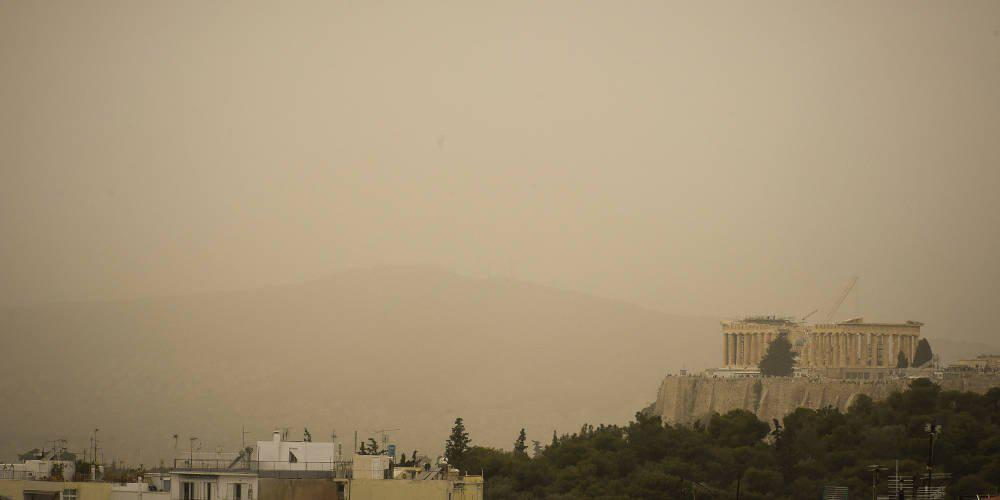 Πρόγνωση καιρού: Θα «πνιγούμε» από την αφρικανική σκόνη και τη Μ. Τετάρτη