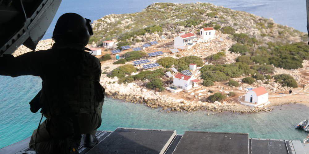 Νέα τουρκική πρόκληση στο Καστελόριζο: Ακταιωρός συνόδευσε μετανάστες στη νησίδα Στρογγύλη!