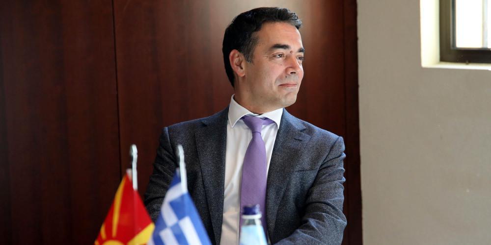 Ντιμιτρόφ για συμφωνία των Πρεσπών: Η ταυτότητα μας στη Βόρεια Μακεδονία μπορεί να συνυπάρξει με την ελληνική