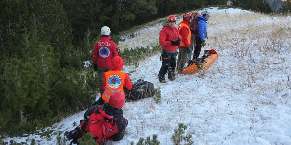 Αίσιο τέλος στο περιστατικό με τον Γάλλο ορειβάτη στον Oλυμπο