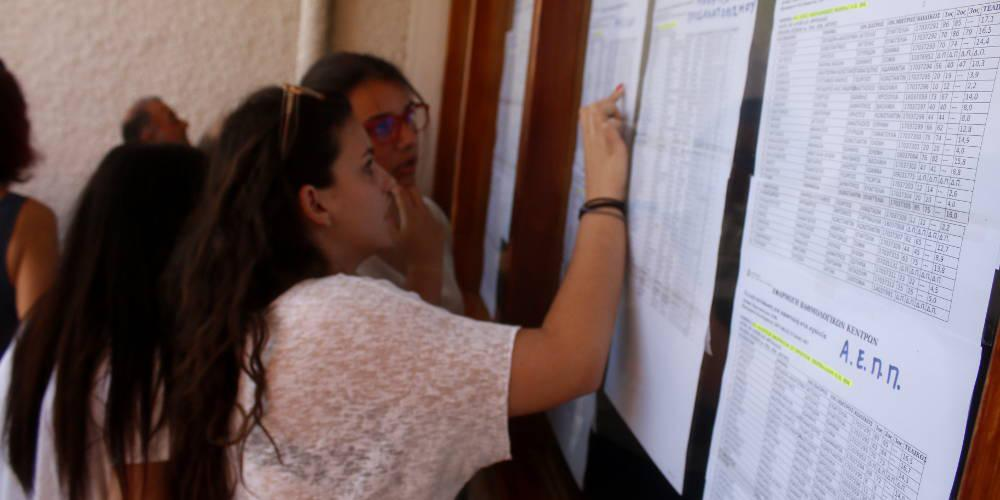 Πανελλαδικές: Πόσοι φοιτητές θα εισαχθούν ανά τμήμα σε ΑΕΙ και ΤΕΙ