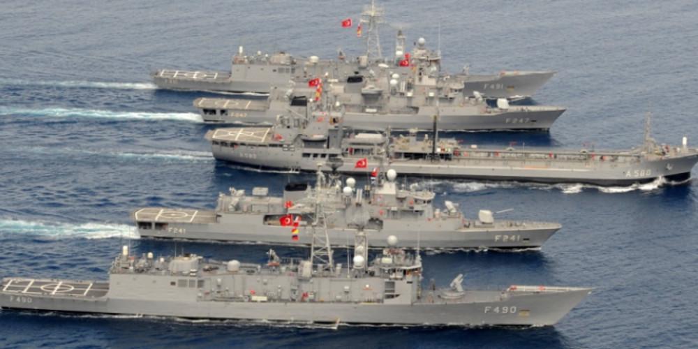 Yeni Safak: Ο τουρκικός στόλος εμποδίζει την Ελλάδα στο Αιγαίο