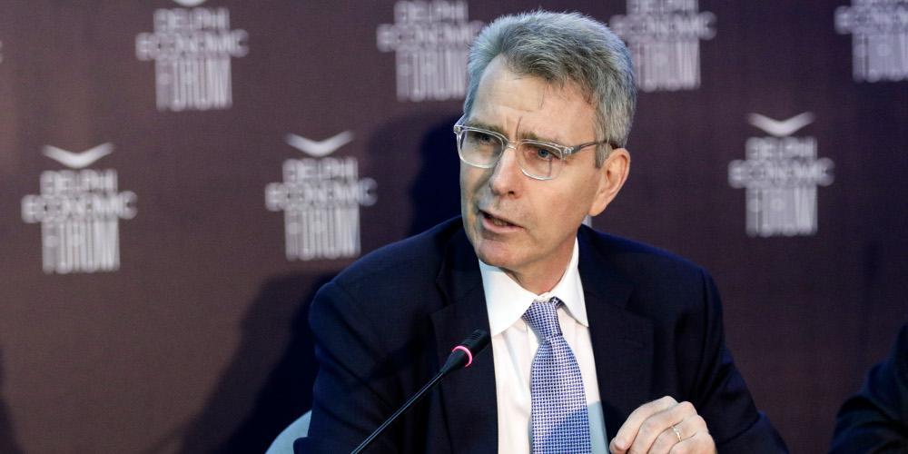 Τζέφρι Πάιατ: Πολύ σταθερά τα θεμέλια των στρατηγικών ελληνοαμερικανικών σχέσεων