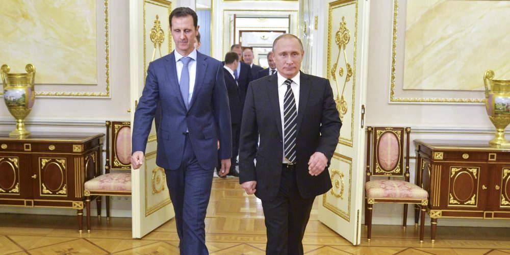 Viral βίντεο: Άσαντ και Πούτιν κοροϊδεύουν τον Τραμπ σε συνάντησή τους