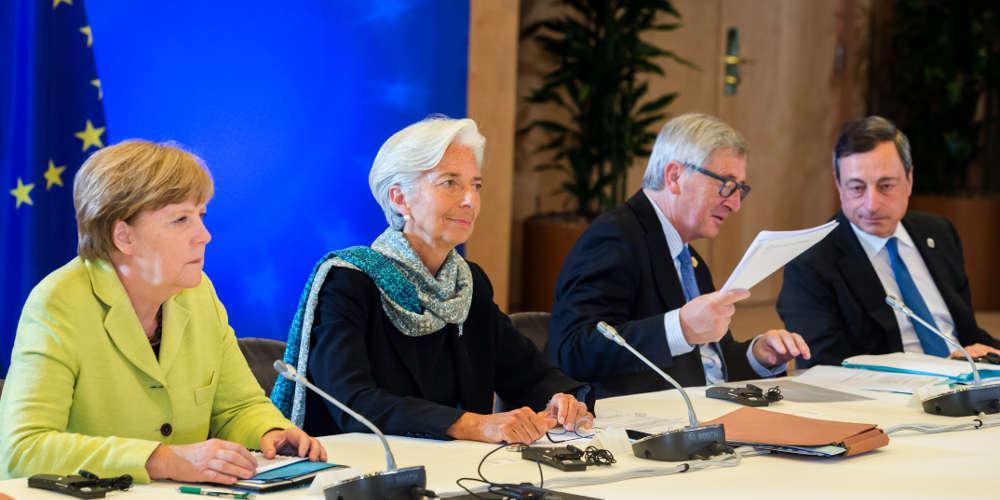 Συνάντηση Μέρκελ-Λαγκάρντ τη Δευτέρα - Θα τα πουν και για το ελληνικό χρέος