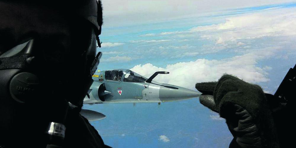 Δύσκολη η ανέλκυση του Mirage 2000-5 του Μπαλταδώρου λόγω της κακοκαιρίας