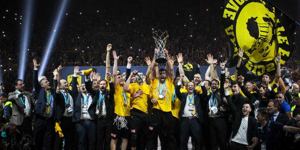 Basketball Champions League: Αυτοί είναι οι όμιλοι για ΑΕΚ, ΠΑΟΚ, Περιστέρι